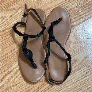 HM basic black sandal